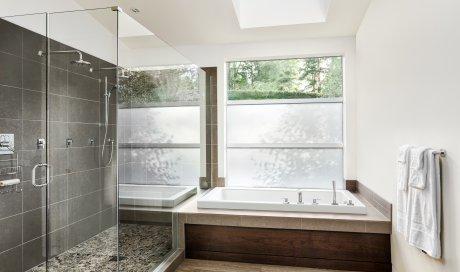 Rénovation salle de bain avec douche à l'italienne à Dole
