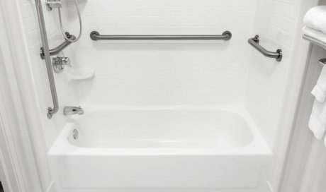 Rénovation salle de bain pour personne à mobilité réduite à Dole